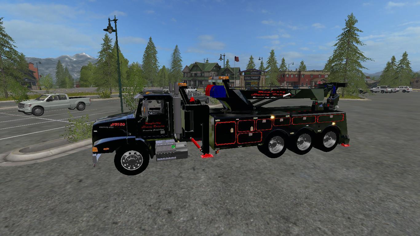 FS17 WESTERN STAR ROTATOR V1 - Farming simulator 2019 / 2017 / 2015 Mod