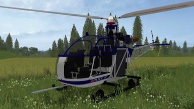 fs17 police heli r400 farming simulator mods - Helicopter Mod