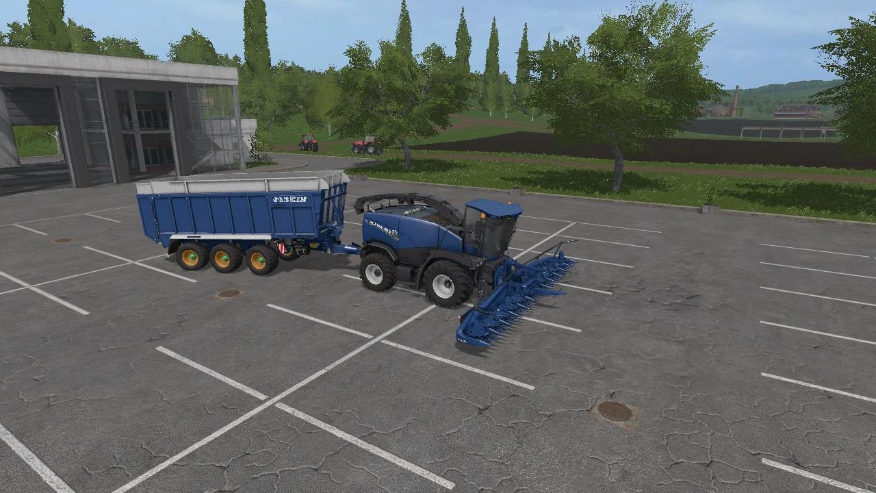 FS17 NEW HOLLAND FORAGE PACK UPDATE V6 - Farming simulator