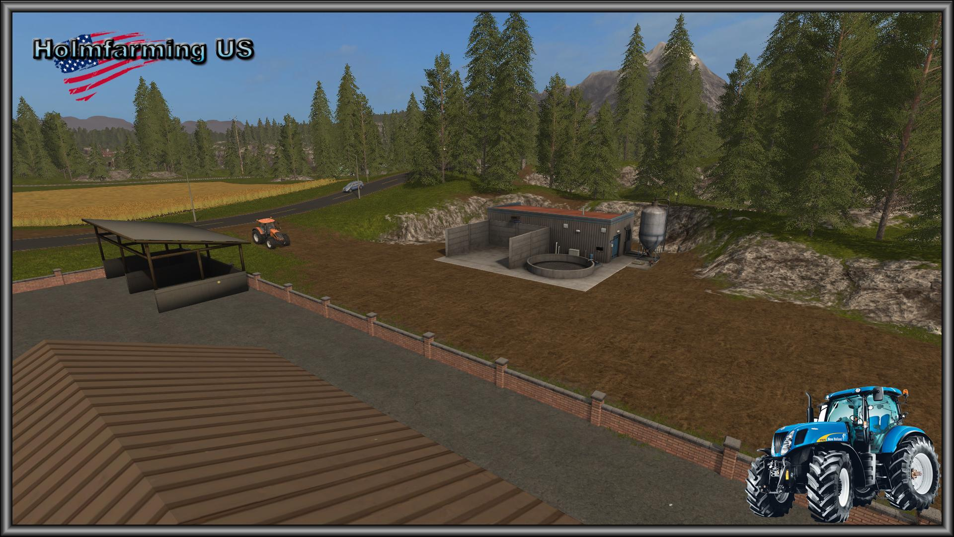 FS HOLMFARMING US MAP V Farming Simulator - Fs 17 us map