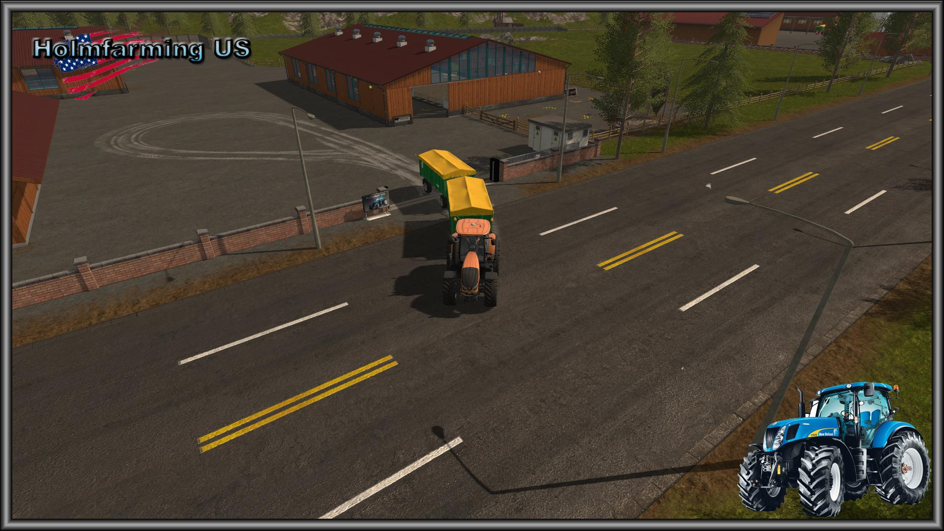 FS HOLMFARMING US MAP V Farming Simulator - Us 17 map