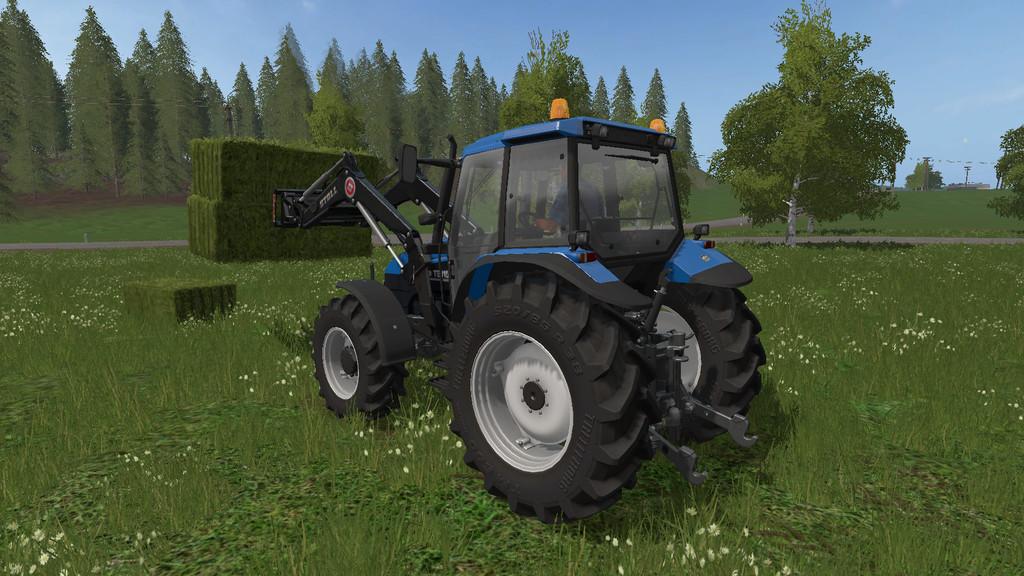 FS17 New Holland TS115 - Farming simulator 2019 / 2017 / 2015 Mod