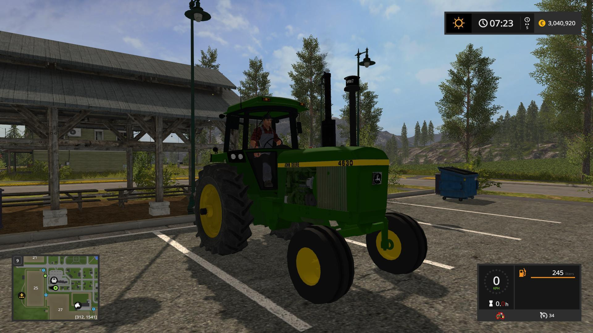 FS17 OLD IRON JOHN DEERE 4630 V1 0 - Farming simulator 2019 / 2017