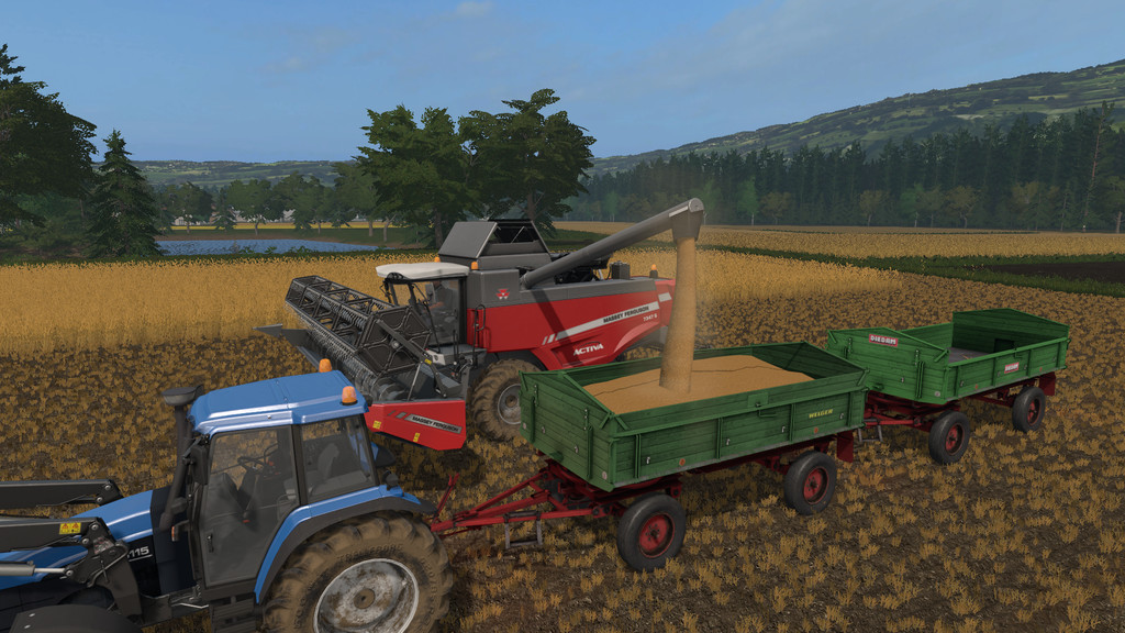 FS17 Old Fashioned Tipper - Farming simulator 2019 / 2017