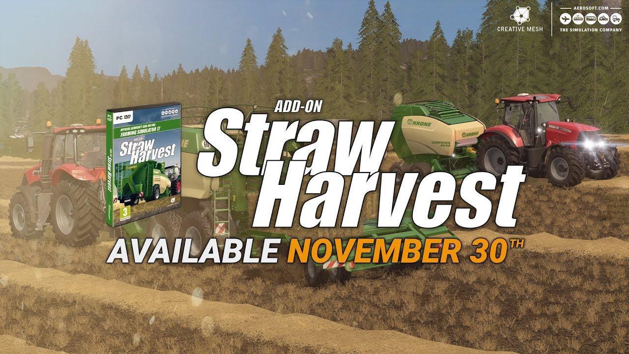 FS17 ADD-ON STRAW HARVEST V1 0 - Farming simulator 2019
