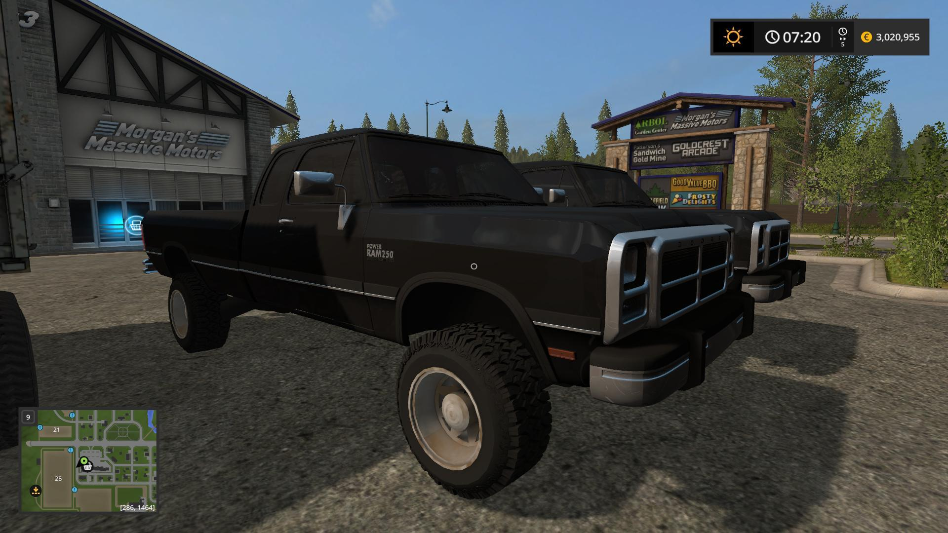 Fs17 Dodge 1st Gen V1 0 Farming Simulator 19 17 15 Mod