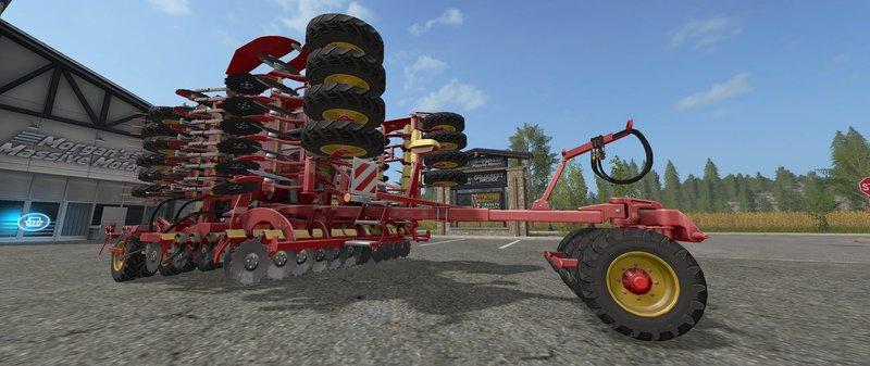 FS17 VÄDERSTAD RAPID A600S DYNAMIC HOSES - Farming simulator