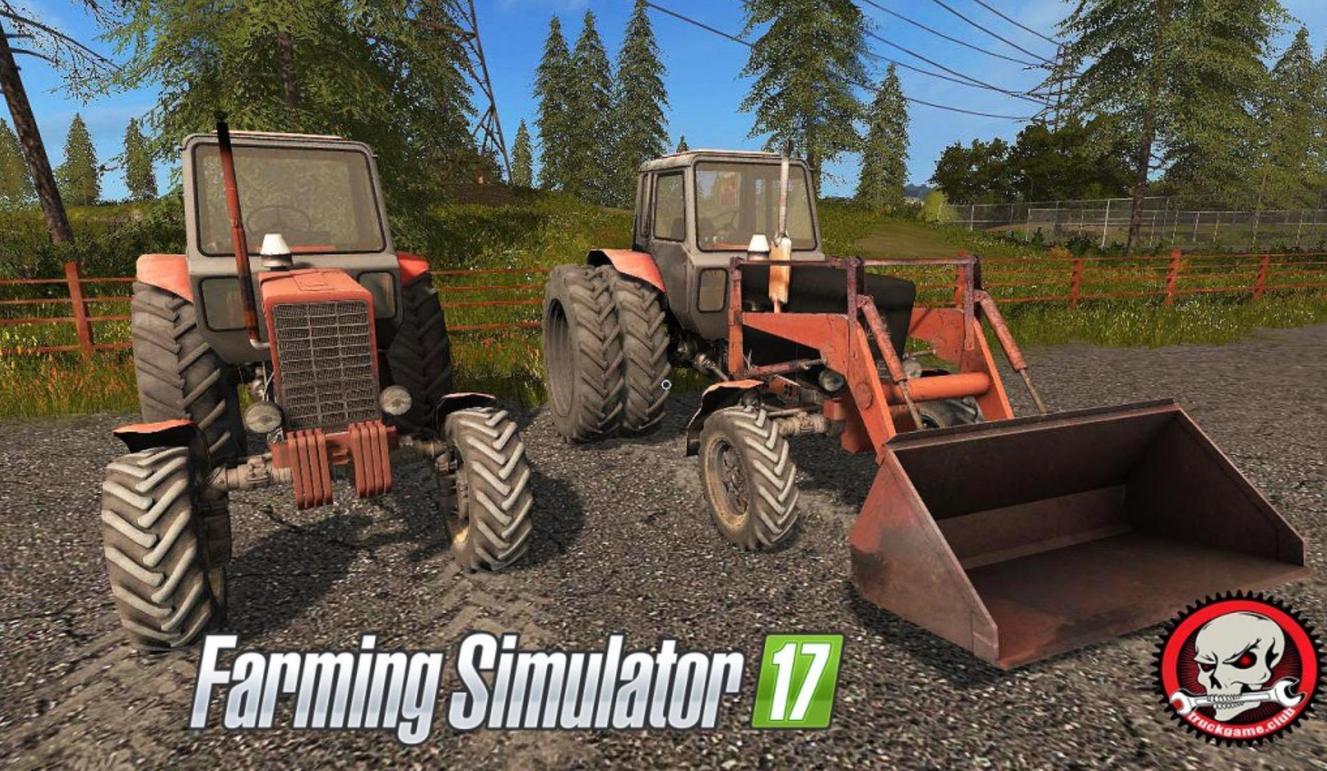FS17 MTZ-82 v3 1 - Farming simulator 2019 / 2017 / 2015 Mod