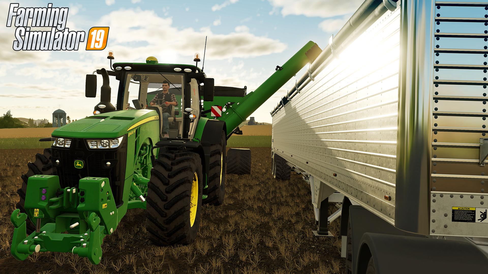 John Deere finally arrives in to Farming Simulator 2019 ...