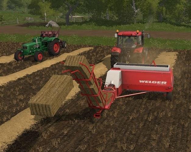 FS17 Small Bale Equipment v1 3 0 6 - Farming simulator 2019
