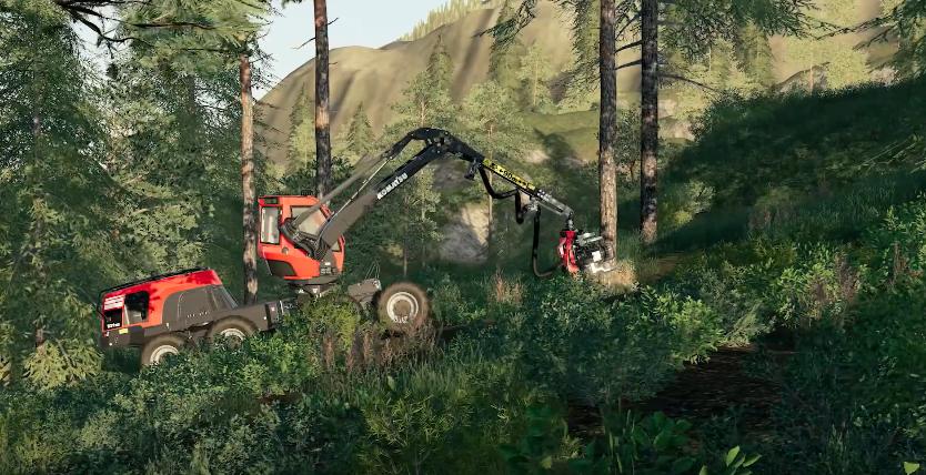 FS19 Brand Spotlight   Komatsu Forest - Farming simulator