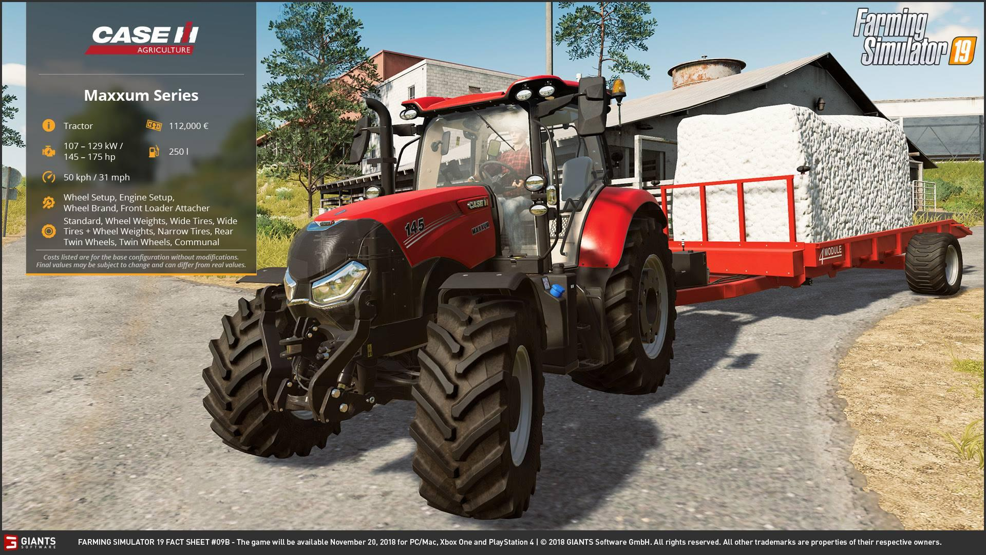 FS19 FACT SHEET #5 - Farming simulator 2019 / 2017 / 2015 Mod