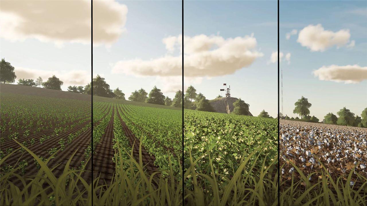 FS19 New Crops & Weed Control - Farming simulator 2019 / 2017 / 2015 Mod