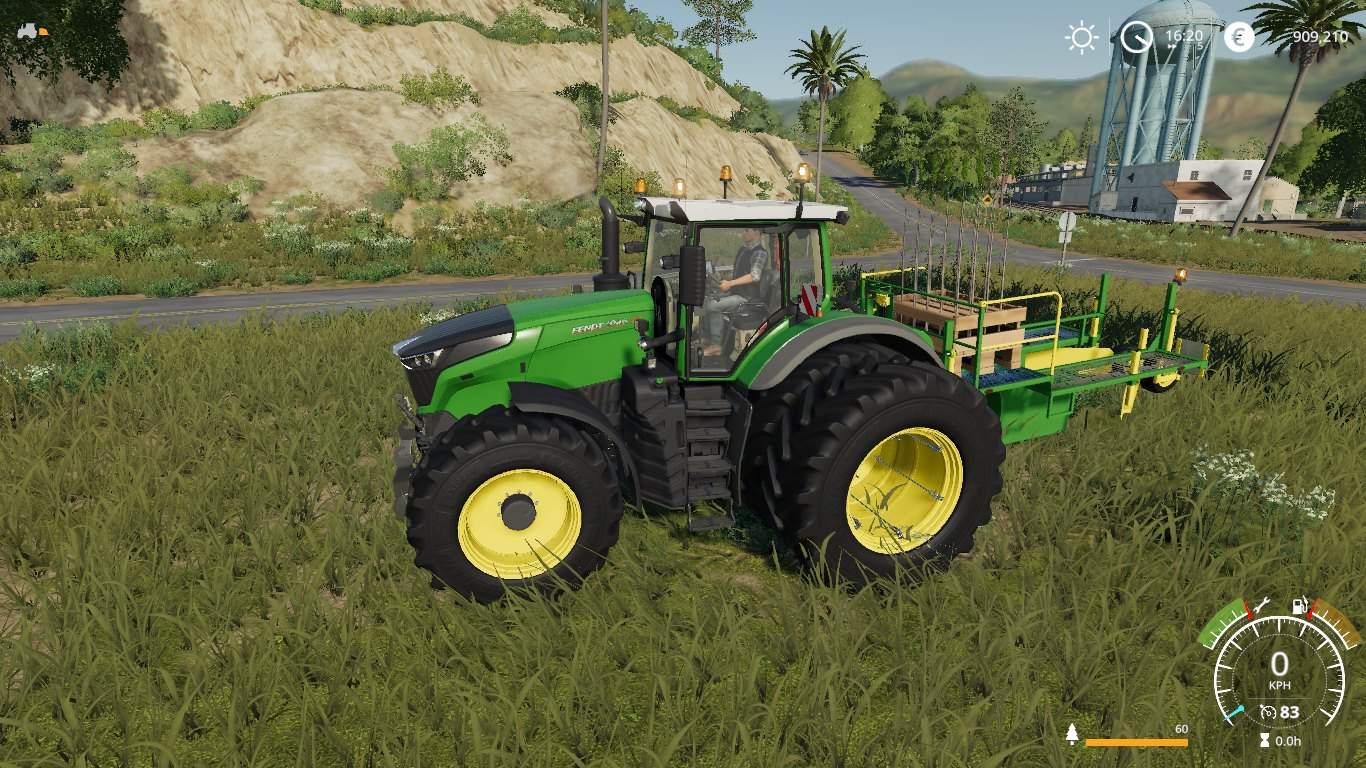 FS19 60 tree saplings pallets - Farming simulator 2019