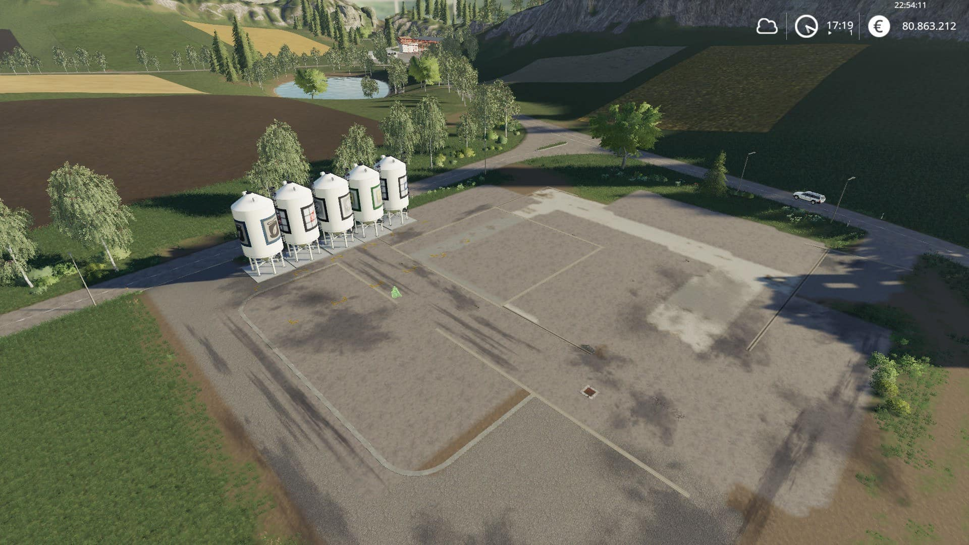 FS19 Placeable silos All in One - Farming simulator 2019 / 2017