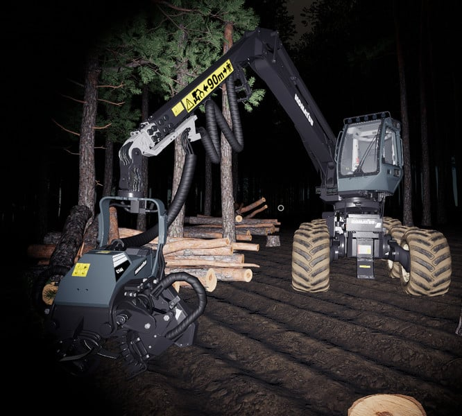 FS19 REAL FORESTRY MACHINERY V 0 2 0 0 - Farming simulator