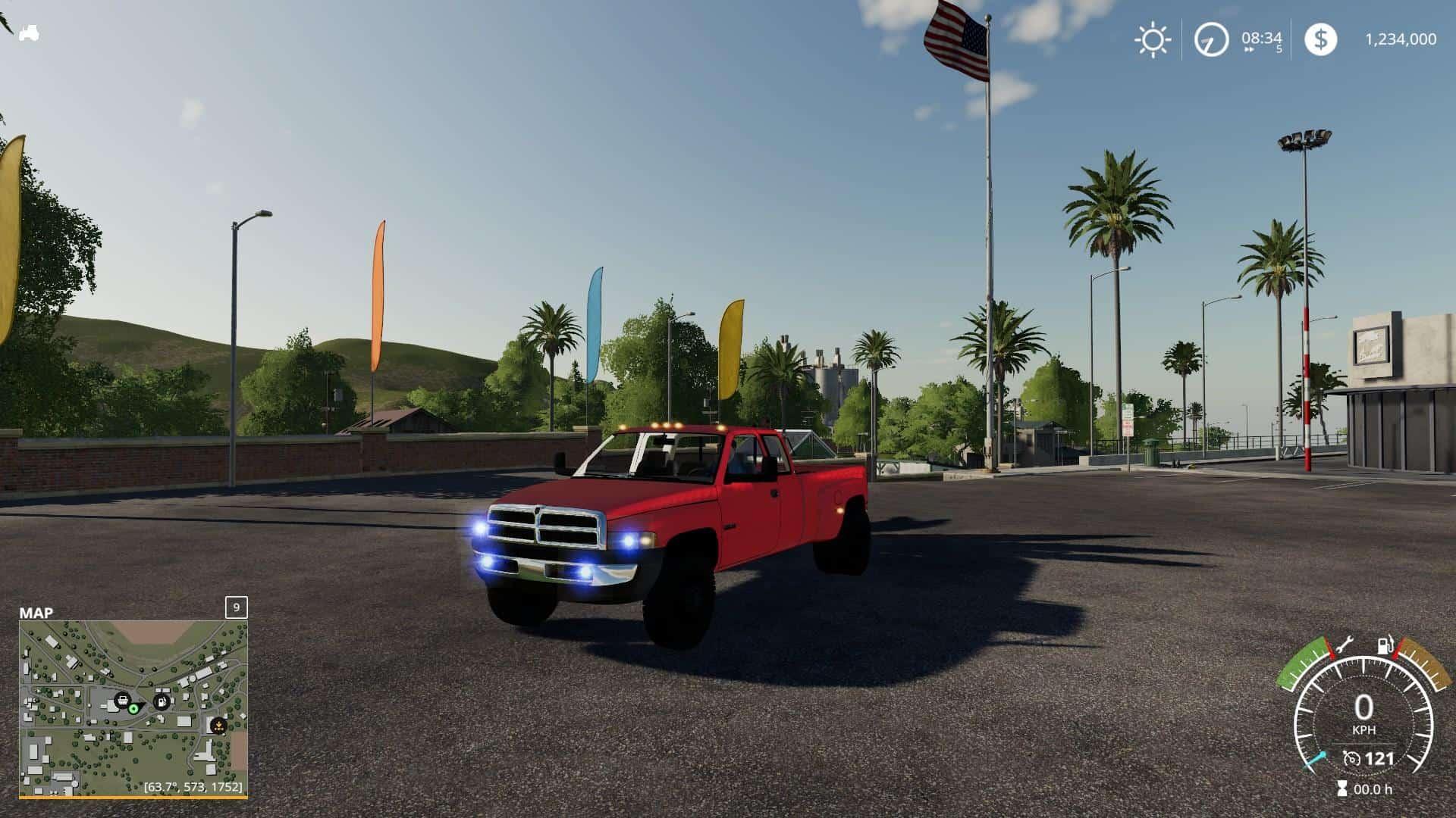 Fs19 2nd Gen Dodge Ram 3500 V1 0 Farming Simulator 19 17 15 Mod