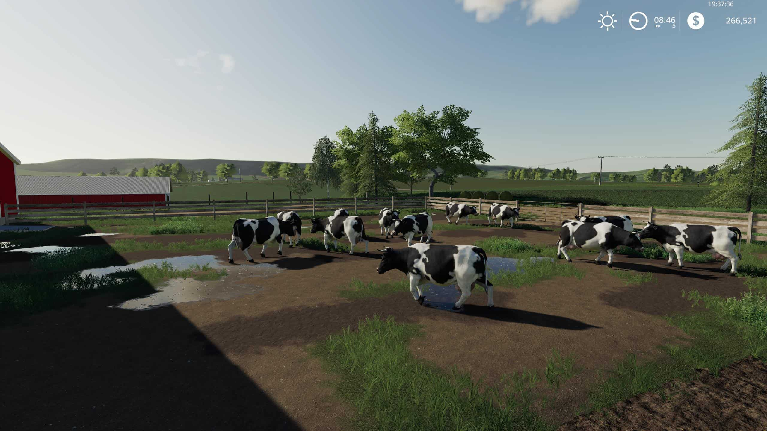 FS19 Autumn Oaks Cows! v2 0 - Farming simulator 2019 / 2017