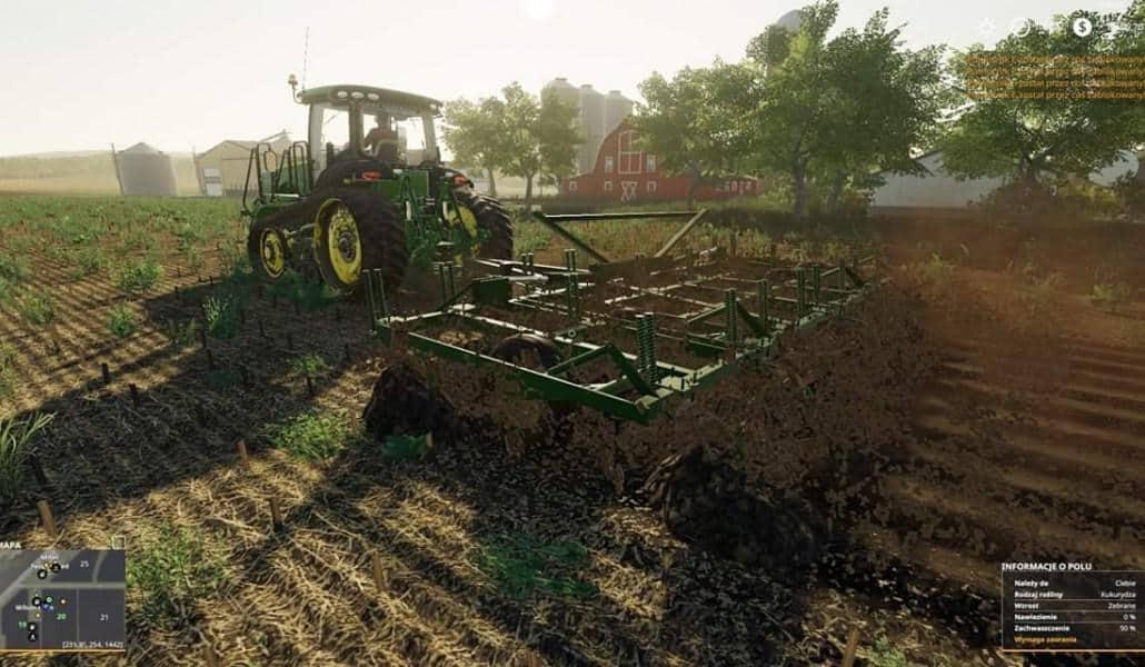 FS19 John Deere 1600 chisel plow v1 0 0 0 - Farming simulator 2019