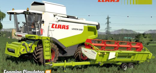 Claas Lexion - Farming simulator 2019 / 2017 / 2015 Mods