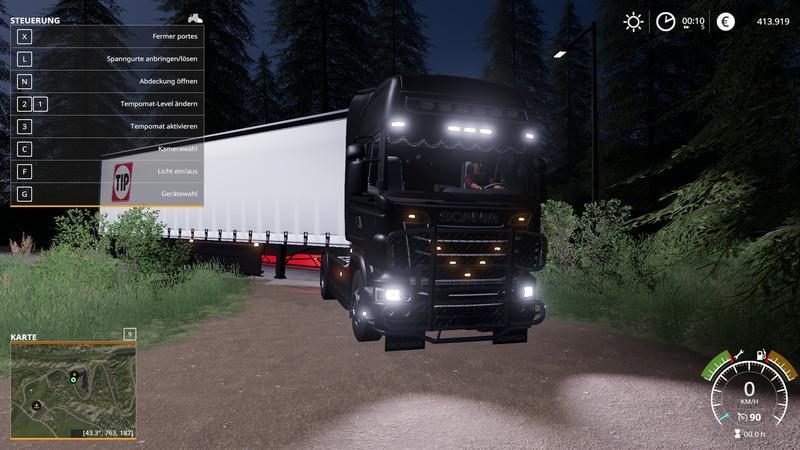 FS19 Scania R730 Semi V 1 0 0 1 - Farming simulator 2019 / 2017