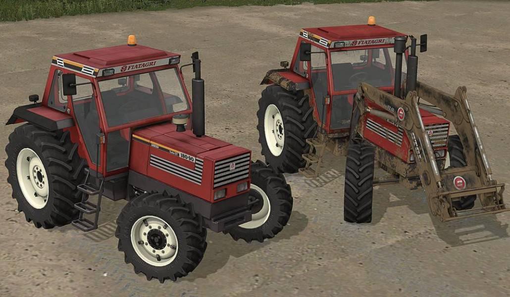 FS19 Fiatagri 85-90 DT - Farming simulator 2019 / 2017