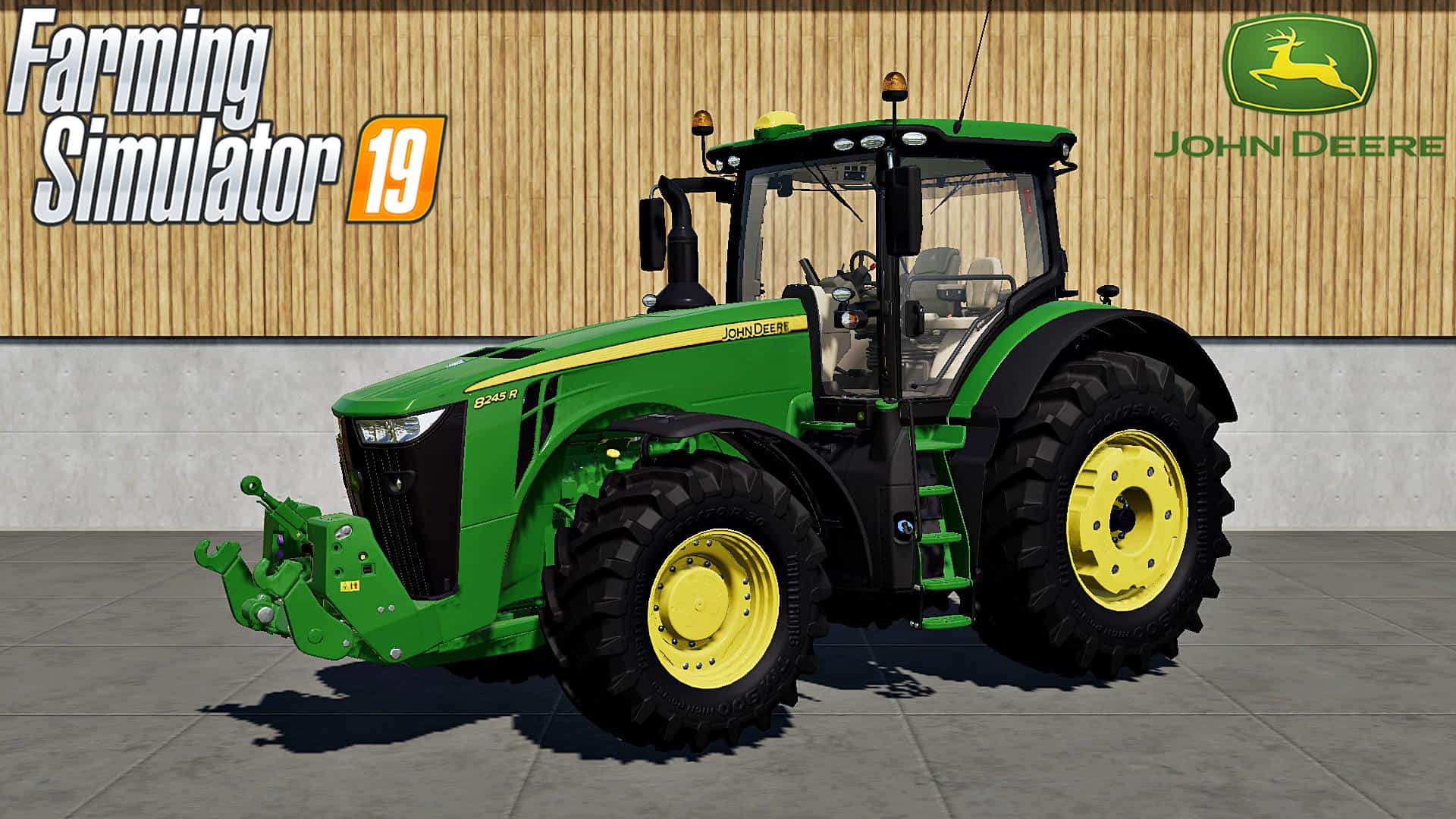FS19 JOHN DEERE 8R SERIES v1 0 - Farming simulator 2019