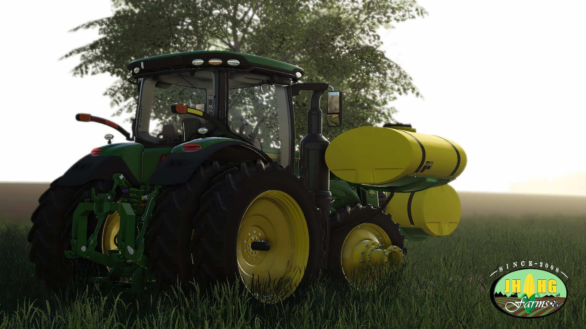 FS19 John Deere 8R US Series 2018 v3 1 - Farming simulator 2019