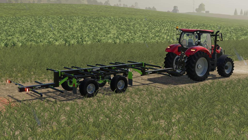 FS19 Lizard TR-10 Round Bale Trailer v1 0 0 0 - Farming simulator