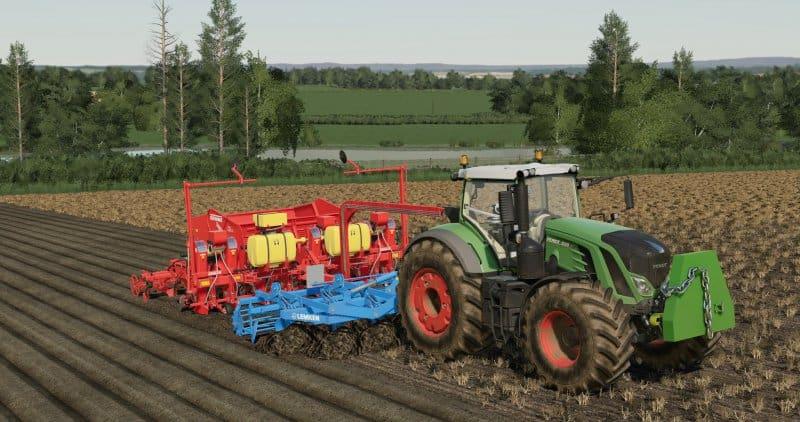 FS19 Potato combo pack - Farming simulator 2019 / 2017