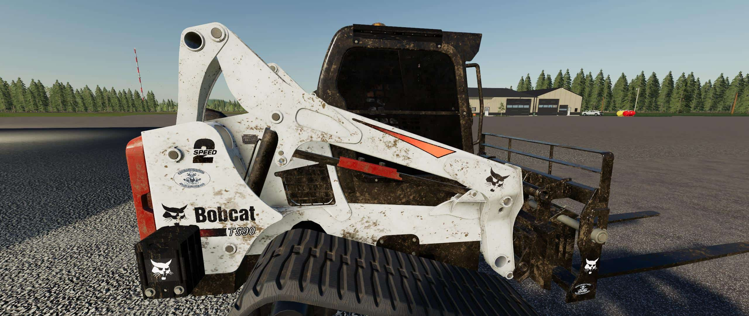 FS19 CSM Bobcat 590 Series Skid Steer Pack v1 1 0 - Farming