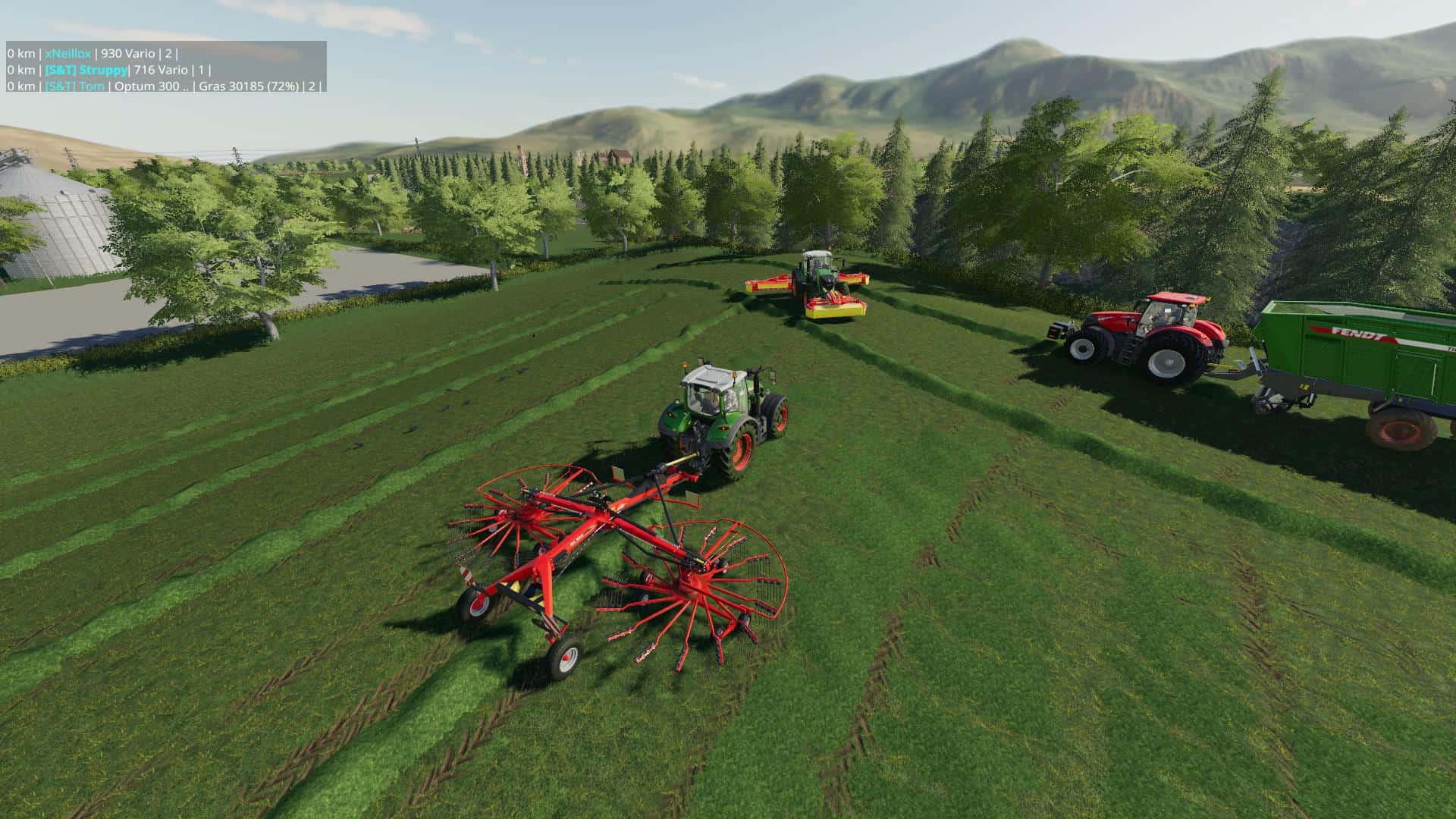 FS19 New Sherwood Park Farm Multi Frucht v1 1 - Farming